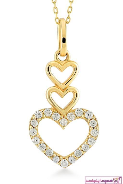 تصویر گردنبند طلا زنانه قیمت برند Gelin Pırlanta رنگ طلایی ty2297392