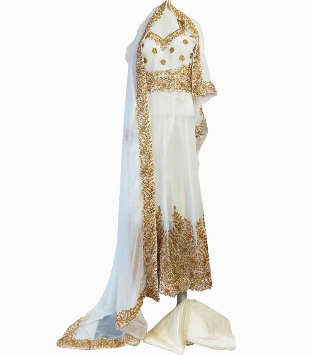 تصویر لباس پنجابی بلند کد KH-01050