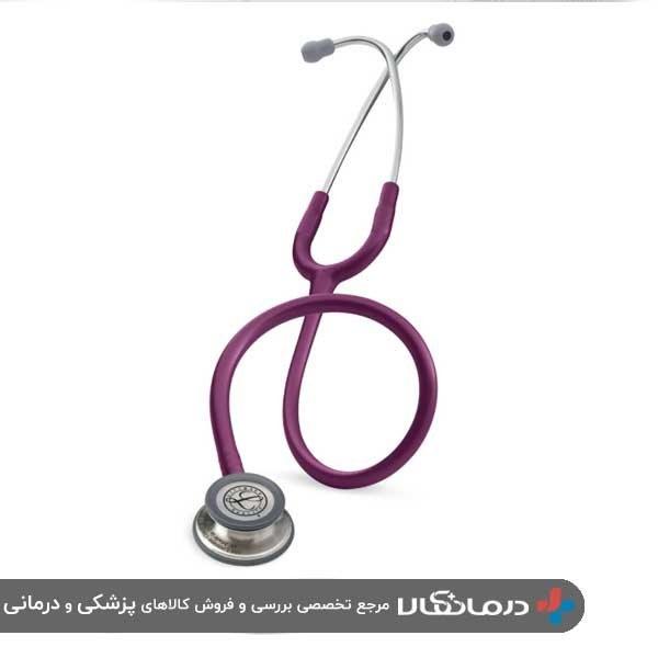 تصویر گوشی پزشکی لیتمن کلاسیک 3  بادمجانی 5831 Littmann Classic III 5831 Stethoscope