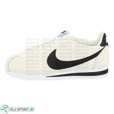 کتانی رانینگ زنانه نایک Nike Classic Cortez Leather Rice Black 807471-111