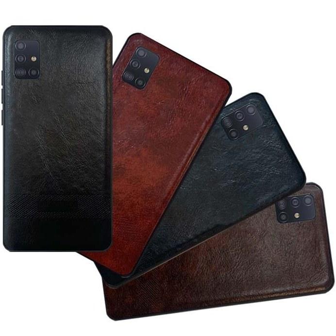 قاب چرم سامسونگ Soft PU Leather Case | Galaxy A51 |