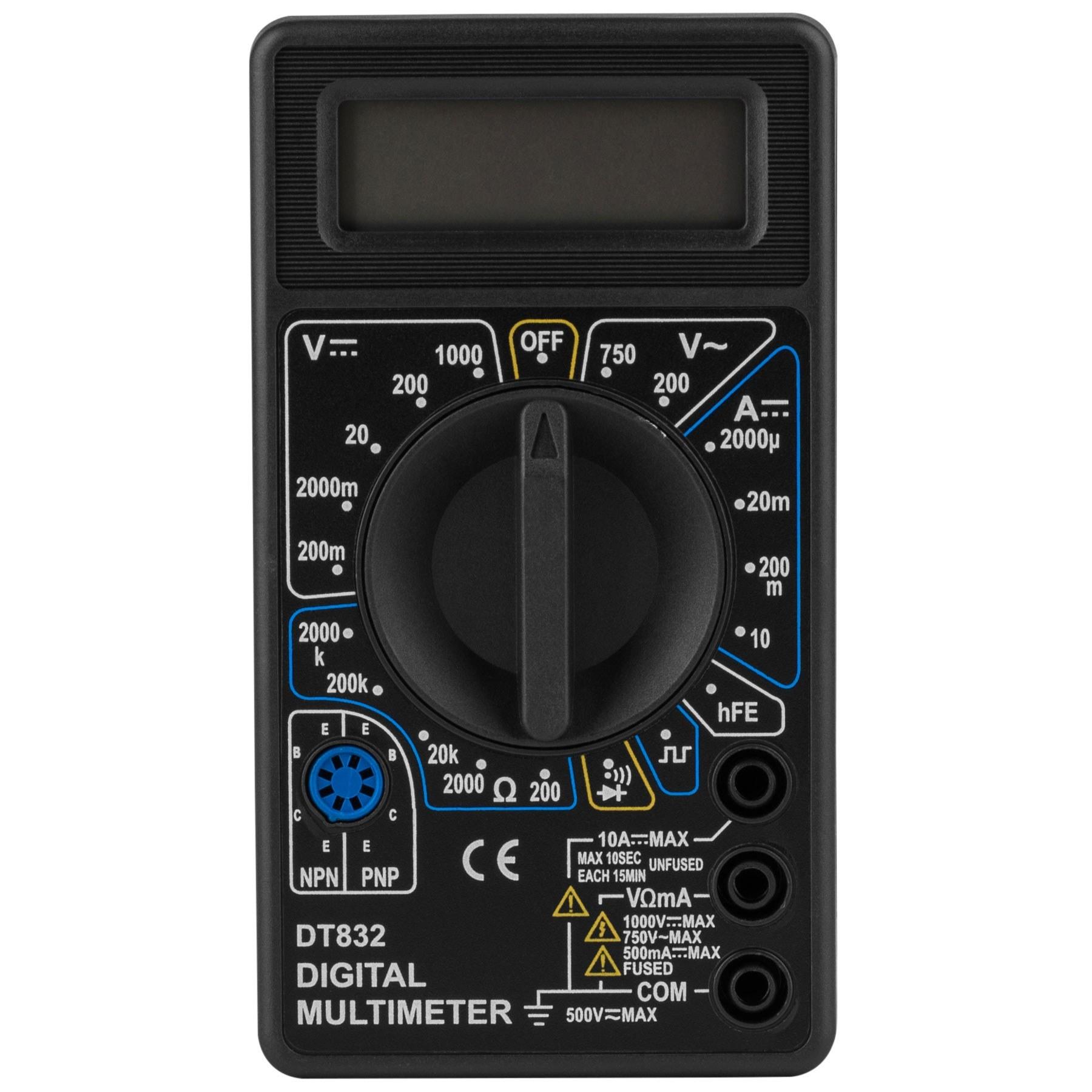 عکس مولتی متر دیجیتال مدل DT832  مولتی-متر-دیجیتال-مدل-dt832