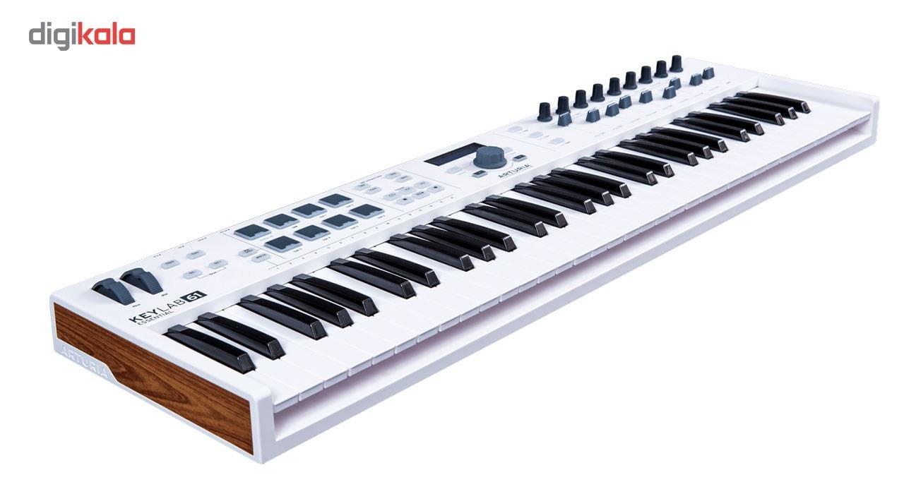 img میدی کنترلر آرتوریا مدل Keylab Essential 61 Arturia Keylab Essential 61 MIDI Contoller