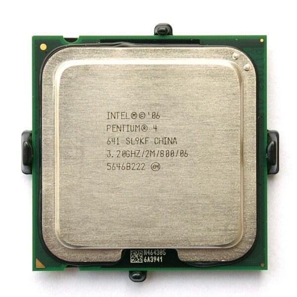 تصویر CPU PENTIUM 4 641