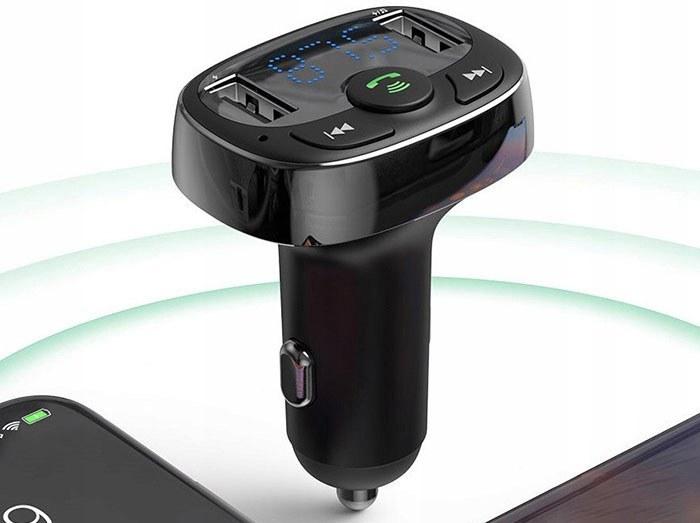 عکس شارژر فندکی رم و فلش خور با پخش موسیقی و تماس بیسوس Baseus S09A T-Type Bluetooth Car Charger  شارژر-فندکی-رم-و-فلش-خور-با-پخش-موسیقی-و-تماس-بیسوس-baseus-s09a-t-type-bluetooth-car-charger