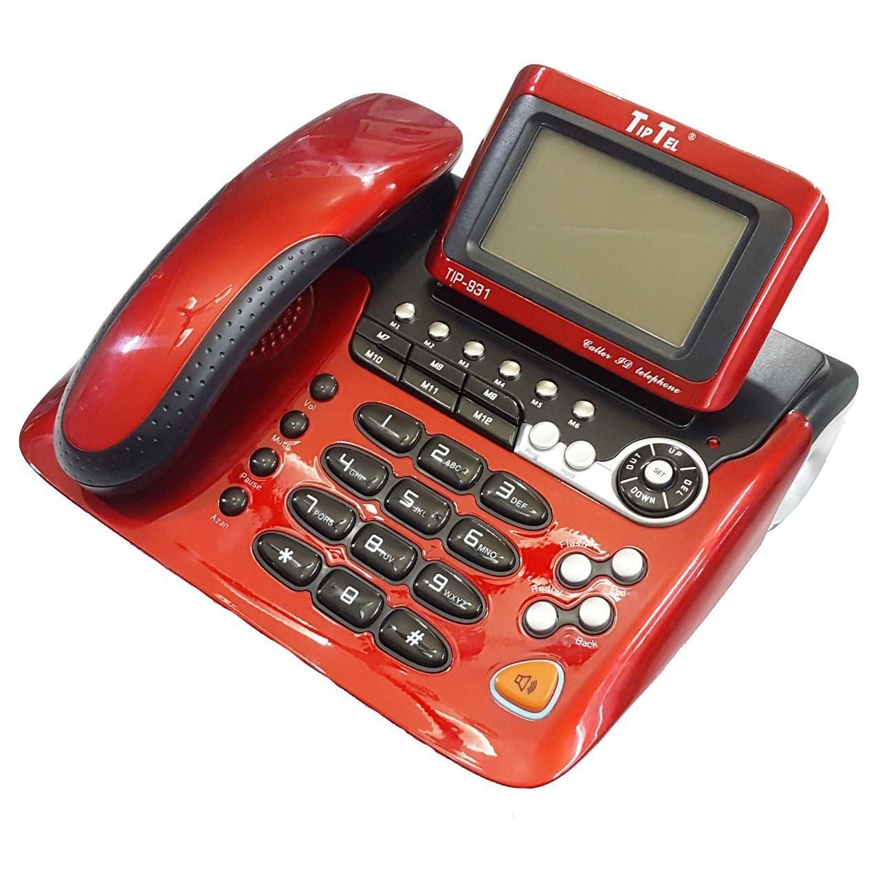 تصویر تلفن تیپ تل مدل Tip-931 TipTel Tip-931 Phone