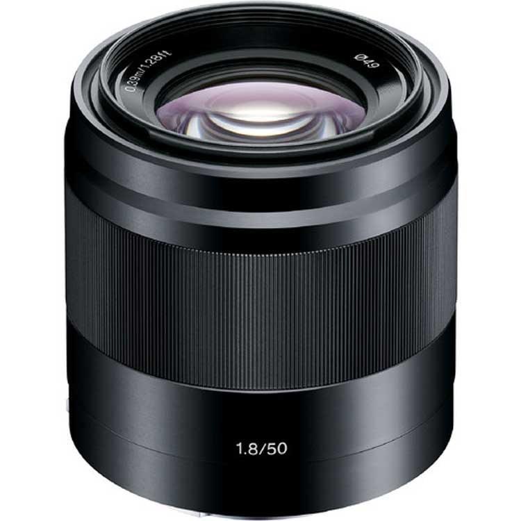 لنزسونی Sony E 50mm f/1.8 OSS Black Lens |