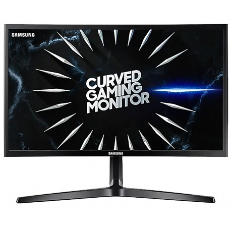 تصویر مانیتور منحنی سامسونگ Monitor Samsung 24RG50 سایز 24 اینچ