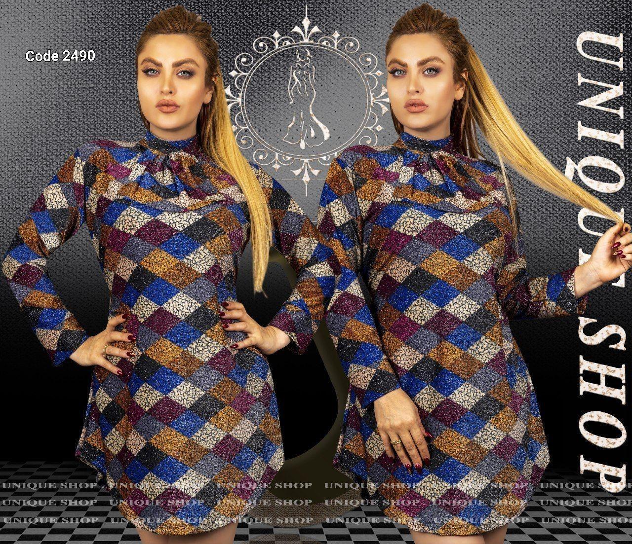 تونیک یقه دستمالی یونیک