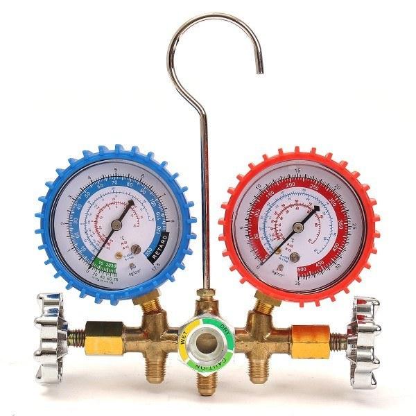 گیج فشار گاز کولر MANIFOLD