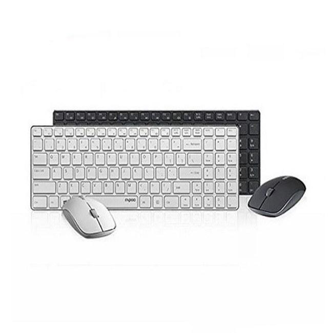 تصویر ماوس و کیبورد بی سیم رپو مدل 9300M Rapoo 9300M Wireless Mouse & Keyboard