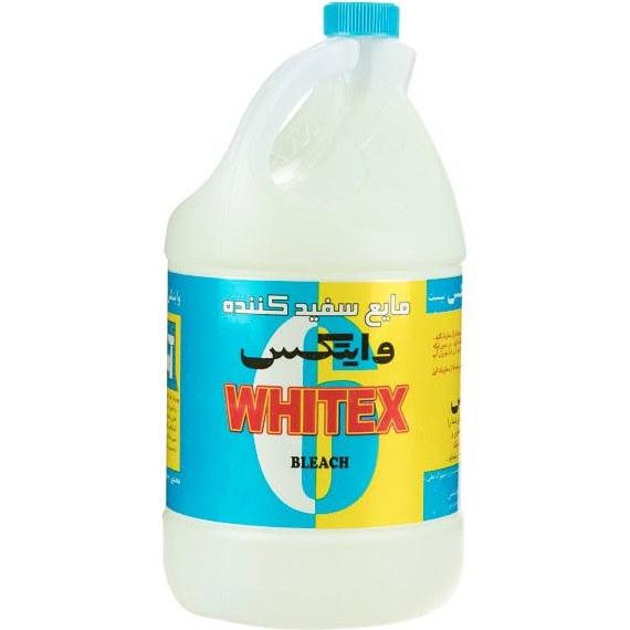تصویر مایع سفیدکننده وایتکس 4 لیتری