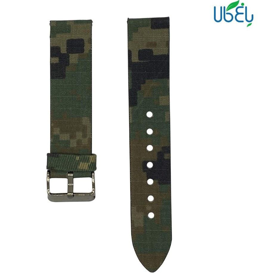 تصویر بند کنفی ساعت هوشمند شیائومی مدل ارتشی مناسب IMILAB KW66 Band for xiaomi IMILAB KW66