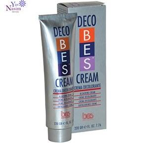 عکس کرم دکلره بس Decobes Bleaching Cream کرم-دکلره-بس