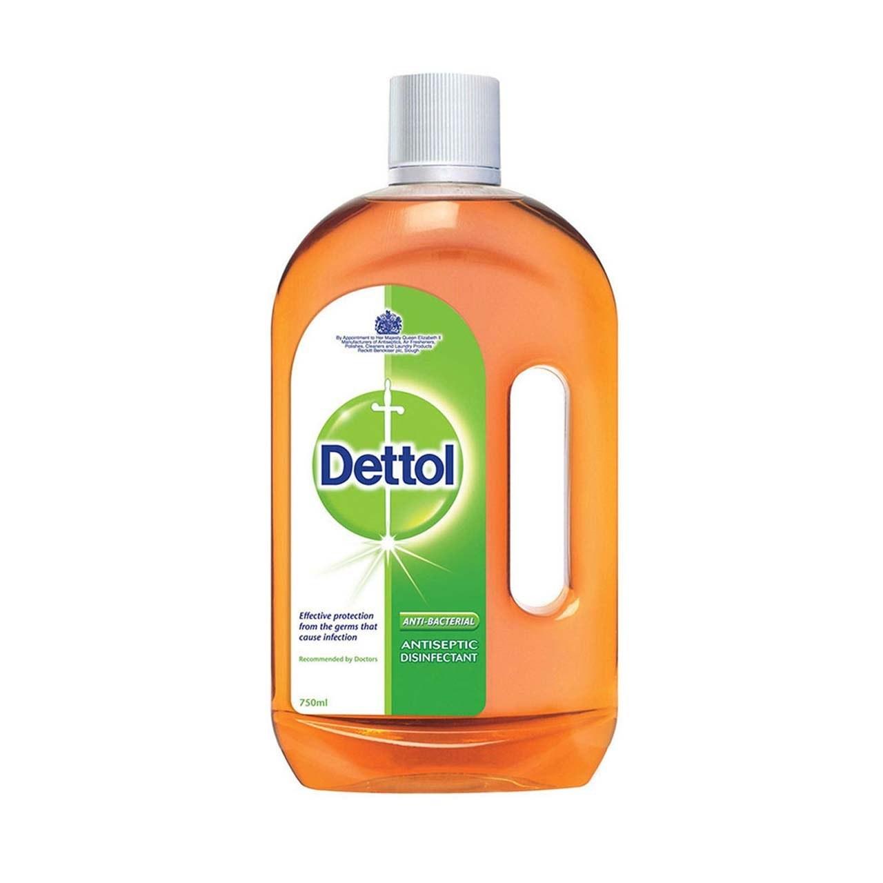 مایع ضدعفونی کننده 750 میلی لیتری دتول Dettol |