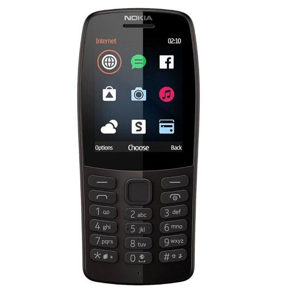 تصویر گوشی موبایل نوکیا 210 با ظرفیت 16MB حافظه داخلی Nokia 210 Dual SIM with 16MB Storage