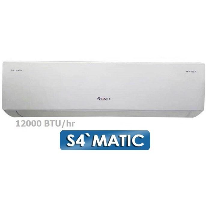 تصویر کولر گازی اسپلیت گری Gree Air Conditioner S4`MATIC-J12H1