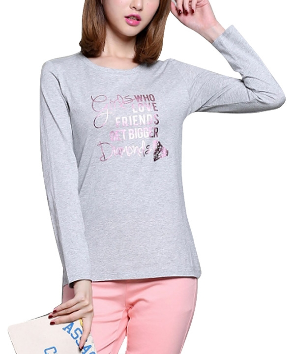 تی شرت آستین بلند زنانه جین وست