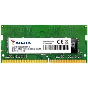 رم ADATA PC4-19200 DDR4 4GB 2400MHz SODIMM | رم لپ تاپ ای دیتا با فرکانس ۲۴۰۰ مگاهرتز و حافظه ۴ گیگابایت