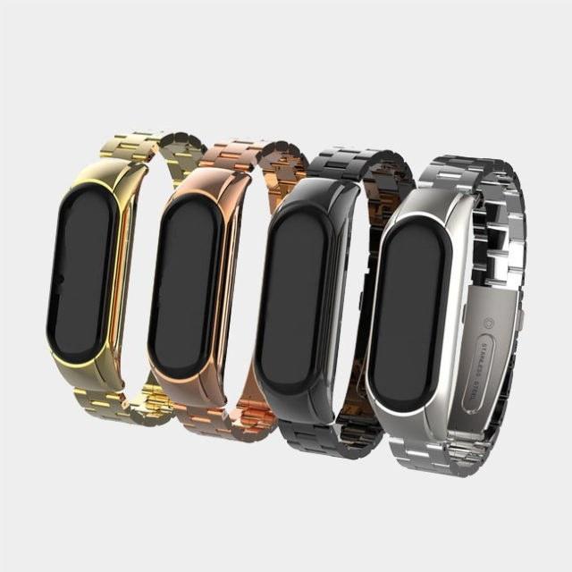بند فلزی دستبند سلامتی شیائومی مدل Mi Band 4