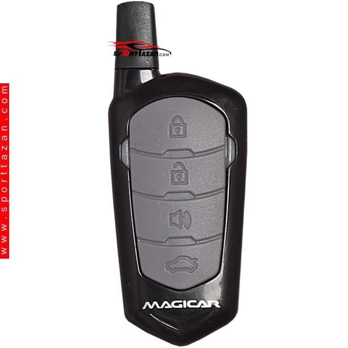 تصویر دزدگیر ماجیکار مدل ۶۶۲ Magicar Car alarm 662