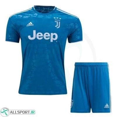 پیراهن شورت بچگانه سوم یوونتوس Juventus 2019-20 3rd Soccer Jersey Kids Shirt+Short