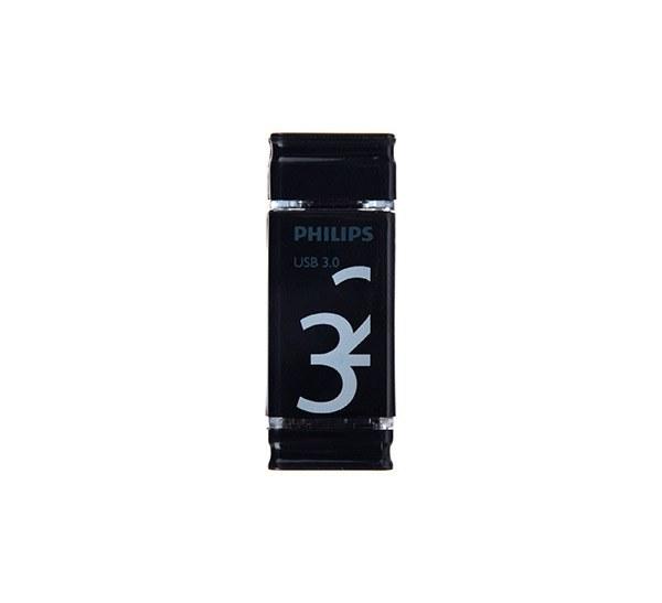 تصویر فلش مموری USB 3.0 فیلیپس مدل Dueto OTG ظرفیت ۳۲ گیگابایت