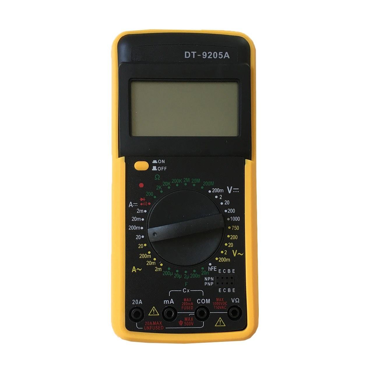 عکس مولتی متر دیجیتال مدل DT9205A  مولتی-متر-دیجیتال-مدل-dt9205a