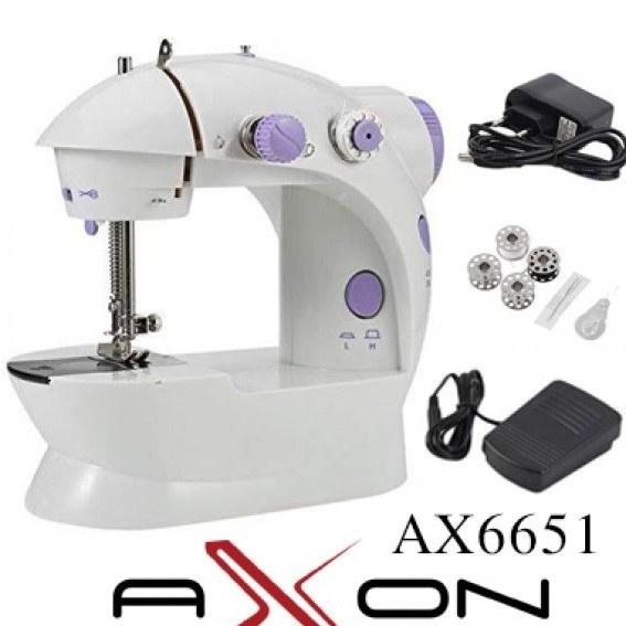 عکس چرخ خیاطی آکسون AX6651  چرخ-خیاطی-اکسون-ax6651