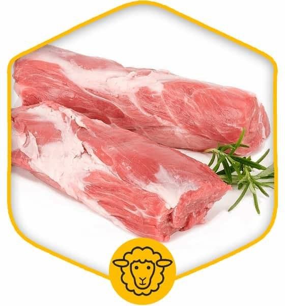 گوشت راسته گوسفندی بدون استخوان
