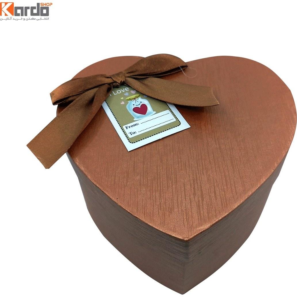 تصویر جعبه هدیه و کادو طرح قلب