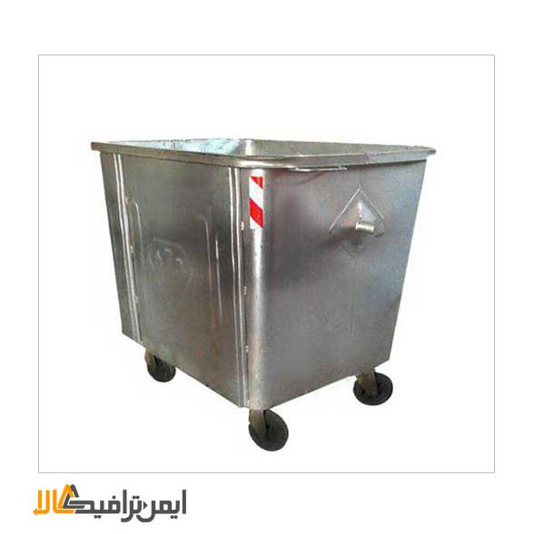 تصویر مخزن زباله فلزی مکانیزه APP-317