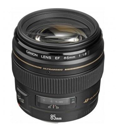 عکس لنز کانن مدل EF 85mm f/1.8 USM Canon EF 85mm f/1.8 USM Lens لنز-کانن-مدل-ef-85mm-f-18-usm