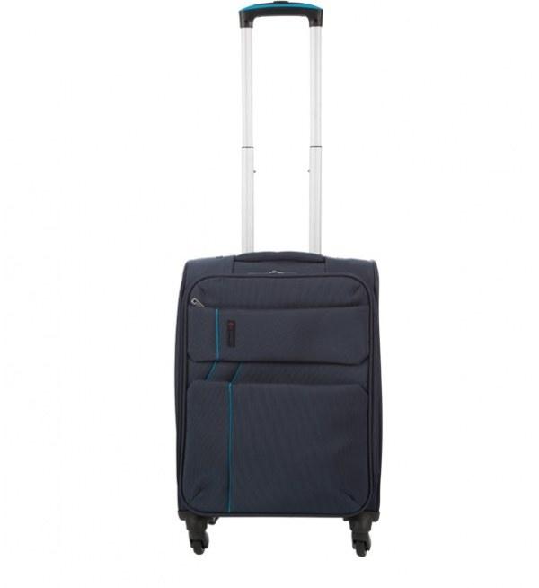 چمدان سایز کوچک سرمه ای جوتی جینز Jooti Jeans