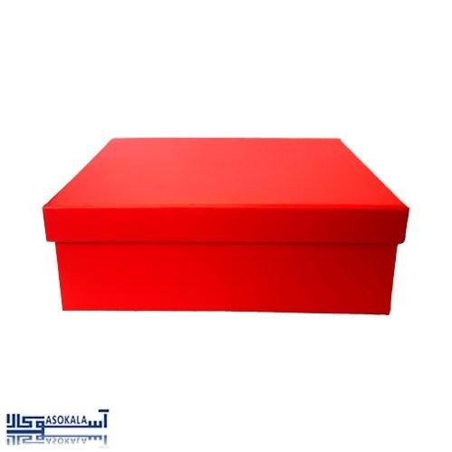 تصویر جعبه کادو قرمز رنگ