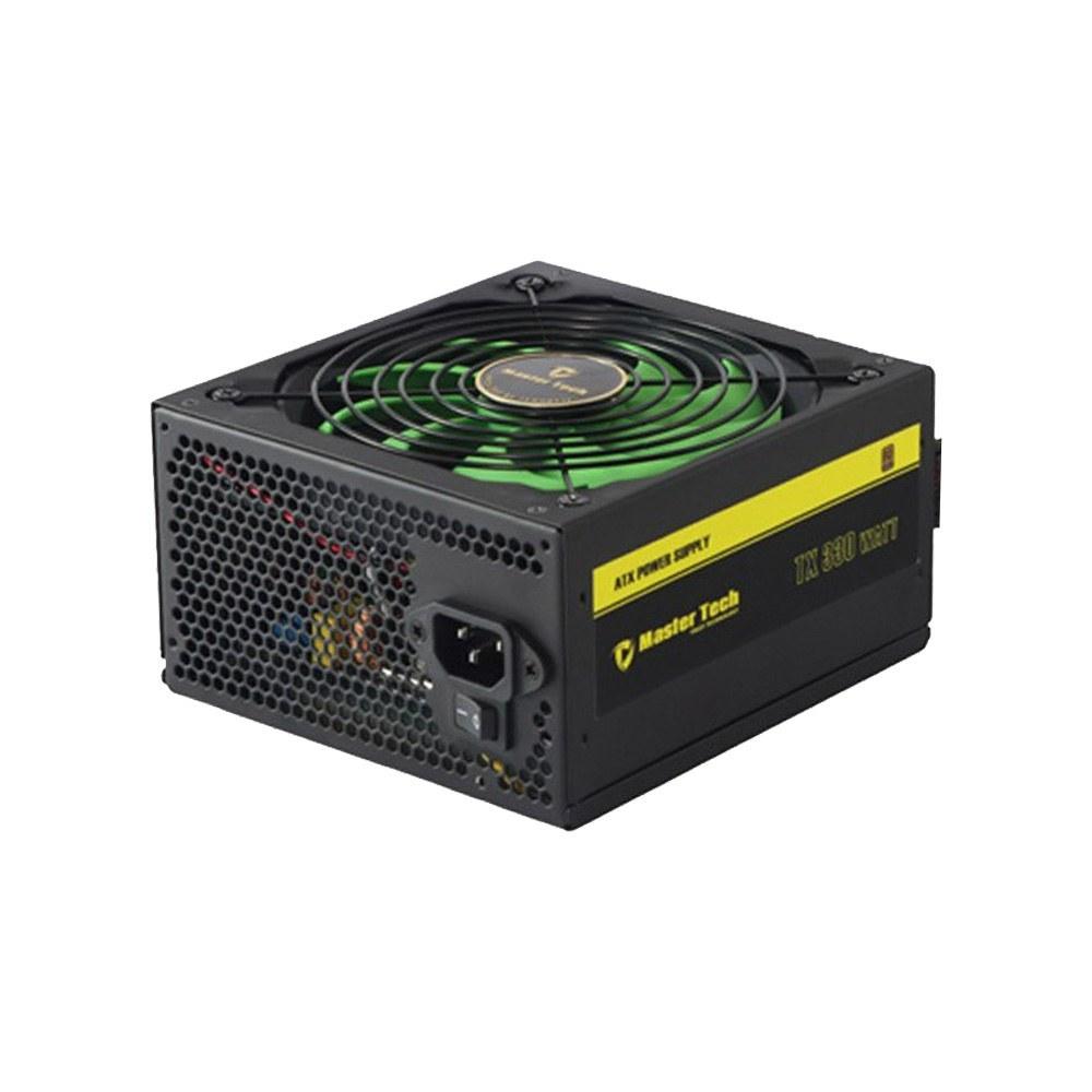 تصویر منبع تغذیه کامپیوتر مستر تک مدل TX330 80 PLUS Bronze Master Tech TX330 80 PLUS Bronze Power Supply