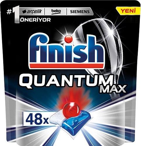 تصویر قرص ماشین ظرفشویی فینیش کوانتوم مکس 48 عددی Finish Quantum Max