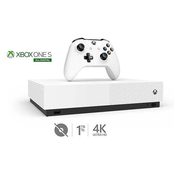 تصویر کنسول بازی Xbox One S ALL DIGITAL ظرفیت یک ترابایت