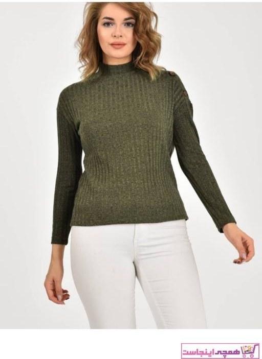 تصویر پلیور زنانه مارک برند Çarşım Mağazaları رنگ سبز کد ty65462993