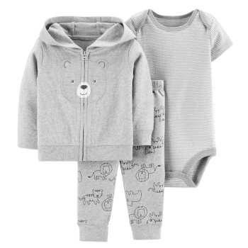 ست 3 تکه لباس نوزادی پسرانه کد 1088 |