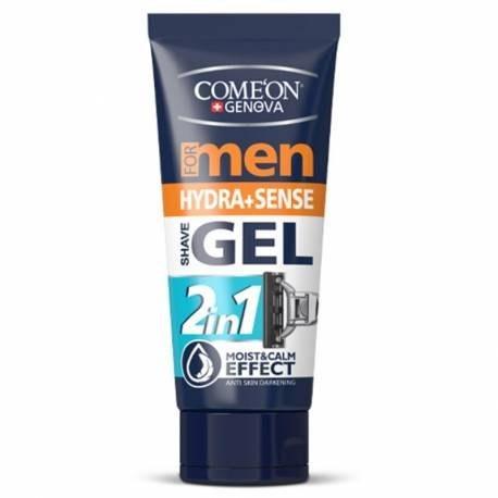 تصویر ژل اصلاح 2 در 1 آبرسان و خنک کننده کامان   Hydra And Sense Shave Gel For Men 175ml