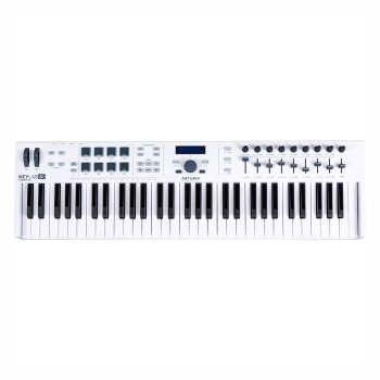 عکس میدی کنترلر آرتوریا مدل Keylab Essential 61 Arturia Keylab Essential 61 MIDI Contoller میدی-کنترلر-ارتوریا-مدل-keylab-essential-61