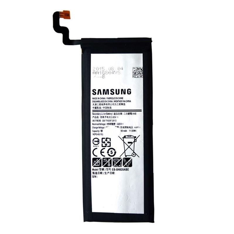 تصویر باتری اورجینال سامسونگ گلکسی Note 5 مدل EB-BN920ABE ظرفیت 3000 میلی آمپر ساعت Samsung Galaxy Note 5 - EB-BN920ABE 3000mAh Original Battery