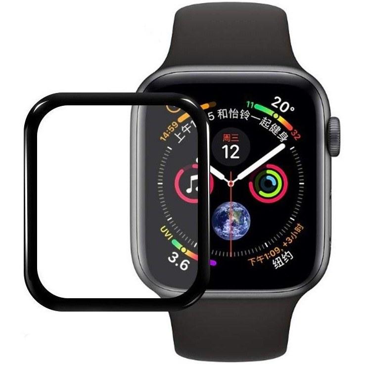 تصویر محافظ صفحه نمایش گلس مناسب برای ساعت هوشمند اپل4  44 میلیمتر
