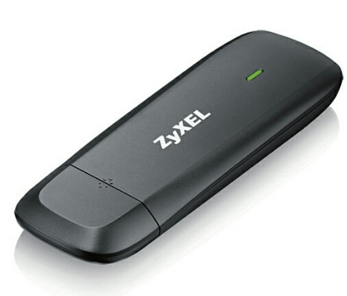 تصویر مودم 4جی بیسیم و قابل حمل زایکسل مدل دبلیو ای اچ 1604 ZyXEL WAH1604 4G LTE USB Dongle Wi-Fi Router