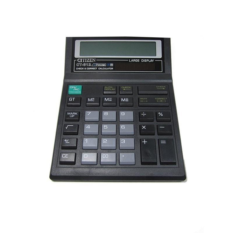 تصویر ماشین حساب مدل CT-612 سیتیزن CT-612 Citizen Calculator