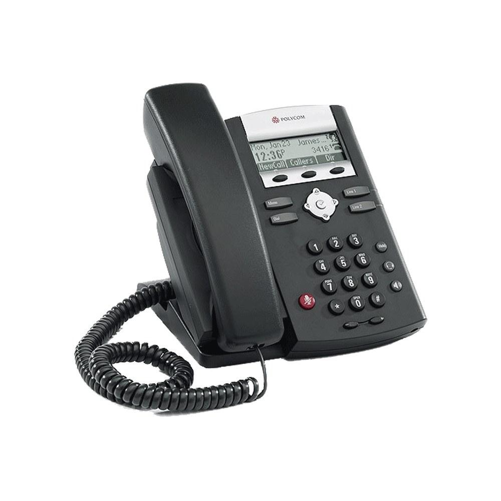 گوشی آی پی فون پلیکام SoundPoint IP 331 POE