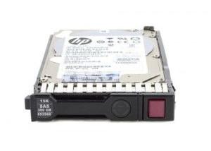 تصویر هارد سرور 300GB SAS 10K LFF HP