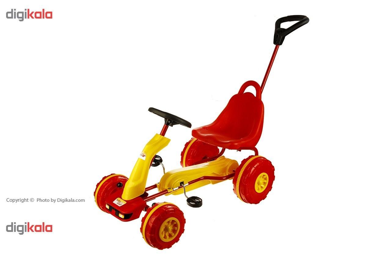 تصویر ماشین بازی بیبی لند مدل Top Car 1 ا Baby Land Top Car 1 Car Toys Baby Land Top Car 1 Car Toys