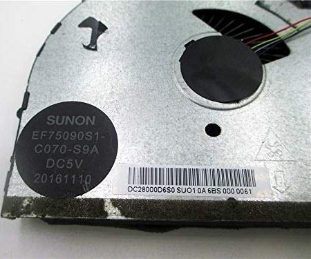 main images فن خنک کننده لپ تاپ / نوت بوک اصلی / فن آوری خنک کننده GPU برای Lenovo Y520 R720 SUNON EF75090S1-C060-S9A EF75090S1-C070-S9A DC28000D6S1